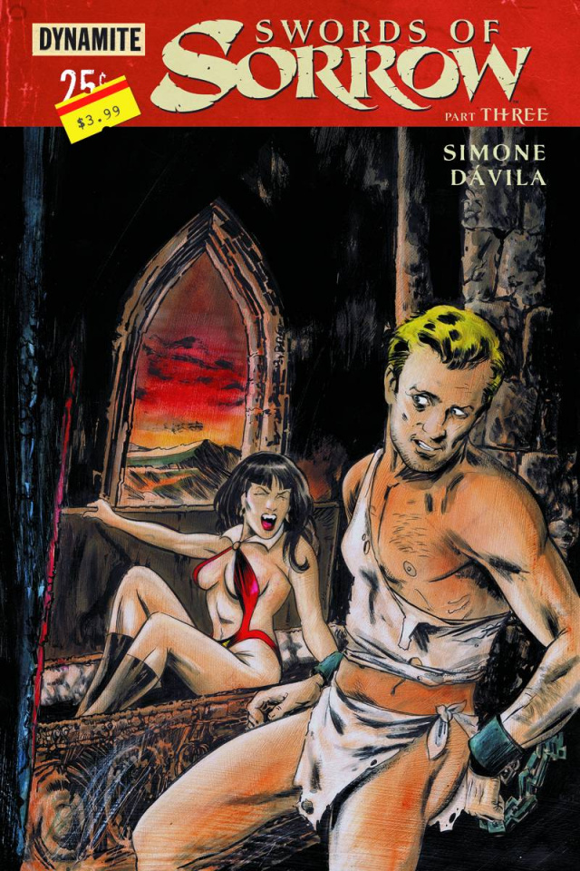 Swords of Sorrow #3 (Hack Subscription Cover)