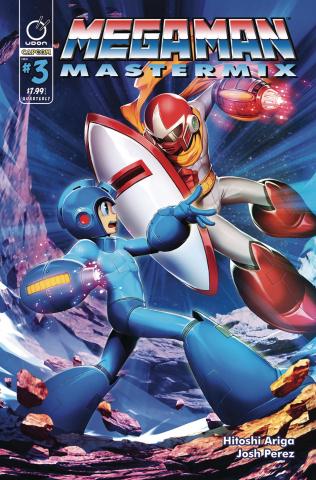 Mega Man: Mastermix #3 (Genzoman Cover)