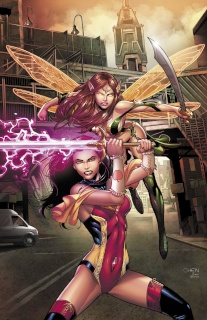 Grimm Fairy Tales #5 (Chen Cover)