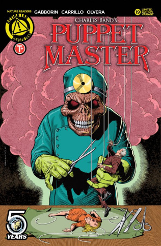Puppet Master #19 (Lumsden Cover)