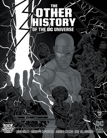 The Other History of the DC Universe #1 (LCSD Jamal Campbell Silver Metallic Ink Cover)