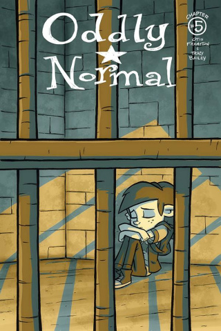 Oddly Normal #5 (Frampton Cover)