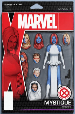 Powers of X #2 (Christopher Action Figure Cover)