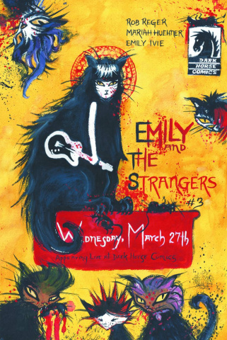 Emily & The Strangers #3 (Buhler Cover)