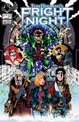 Fright Night #1 (Vokes Cover)