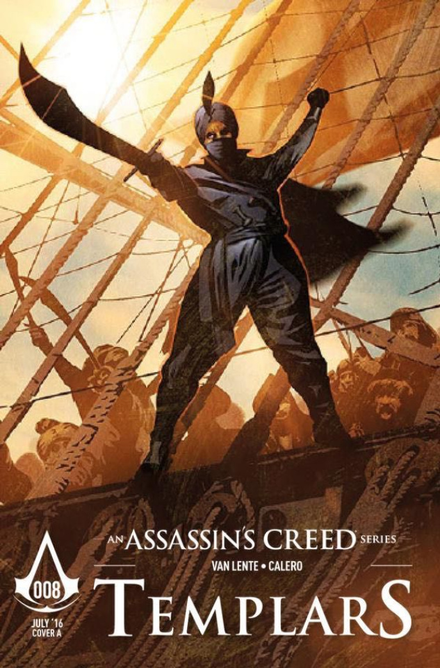 Assassin's Creed: Templars #8 (Calero Cover)