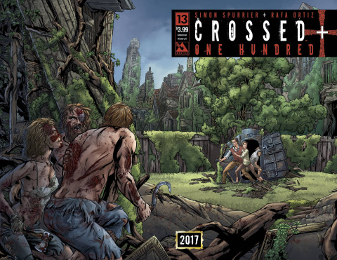 Crossed + One Hundred #13 (American History X Wrap Cover)