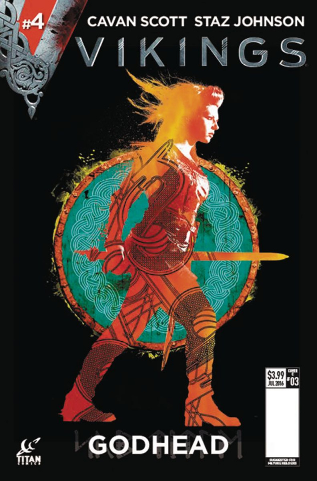 Vikings #4 (Photo Shield Cover)