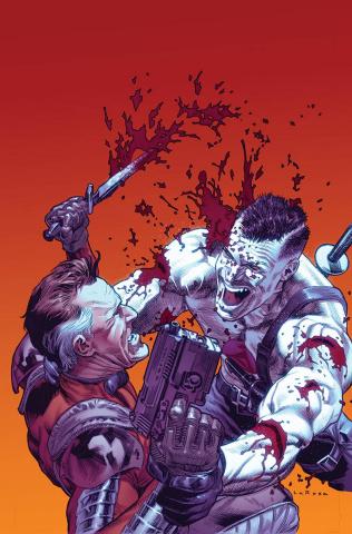 Bloodshot & H.A.R.D. Corps #22 (Larosa Cover)
