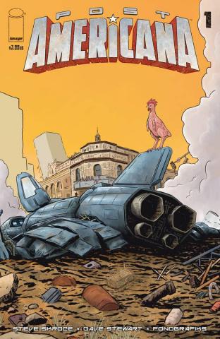 Post Americana #1 (Guerra Cover)