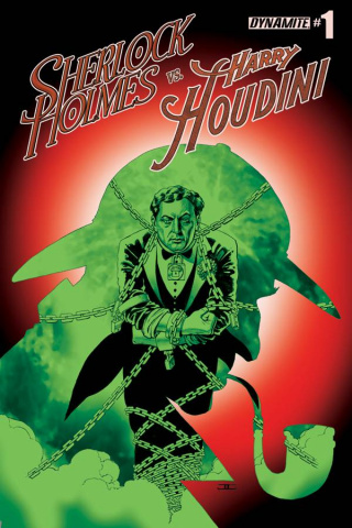Sherlock Holmes vs. Harry Houdini #1 (Cassaday Cover)