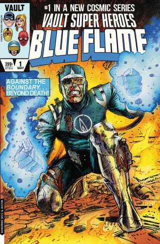 The Blue Flame #1 (15 Copy Cover)