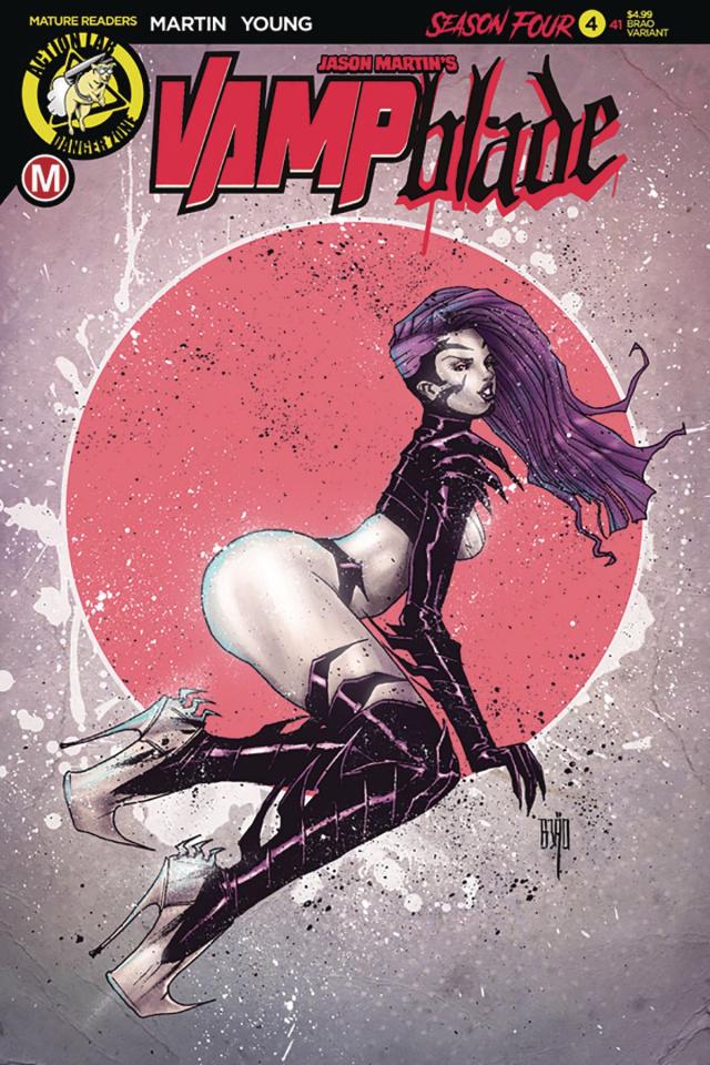 Vampblade, Season Four #4 (Brao Cover)