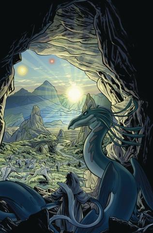 Beneath the Dark Crystal #4 (Dewey Cover)