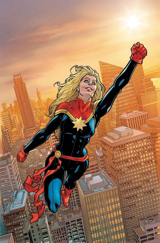 The Amazing Spider-Man #16 (Hawthorne Captain Marvel Cover)