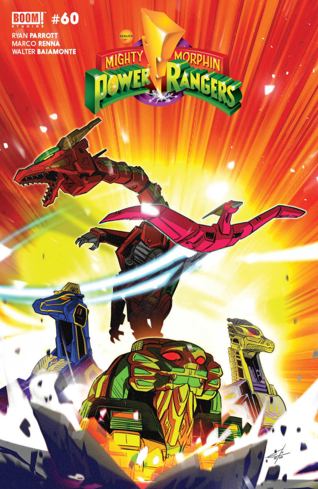 Mighty Morphin' #3 (Carlini Legacy Cover)