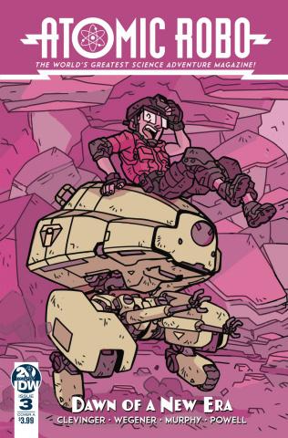 Atomic Robo: Dawn of the New Era #3 (Wegener Cover)