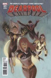 Deadpool #21 (Noto Champions Cover)