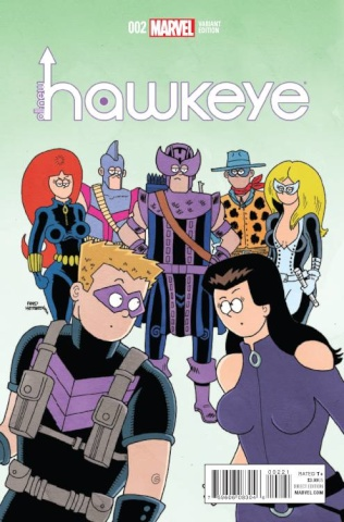 All-New Hawkeye #2 (Hembeck Cover)
