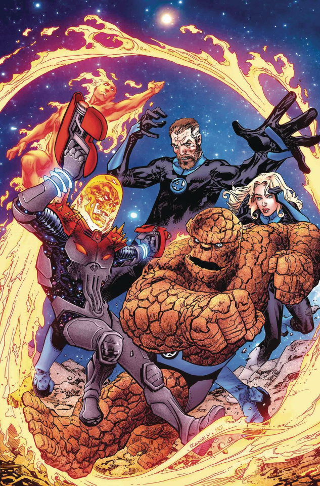 Fantastic Four #2 (Raney Cosmic Ghost Rider Cover)