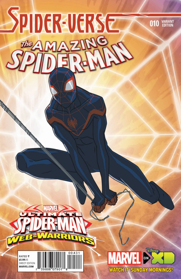 The Amazing Spider-Man #10 (Marvel Animation Spider-Verse Cover)