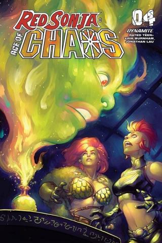 Red Sonja: Age of Chaos #4 (Hetrick Bonus Cover)