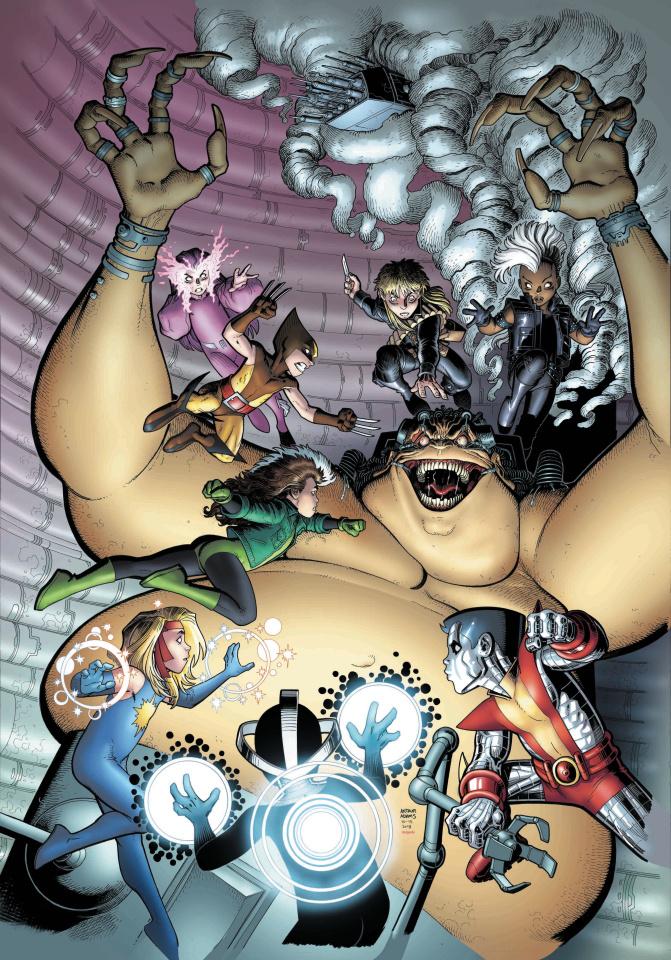 The Immortal Hulk #9 (Art Adams Uncanny X-Men Cover)