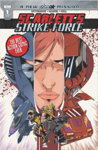 Scarlett's Strike Force #1 (20 Copy Cover)