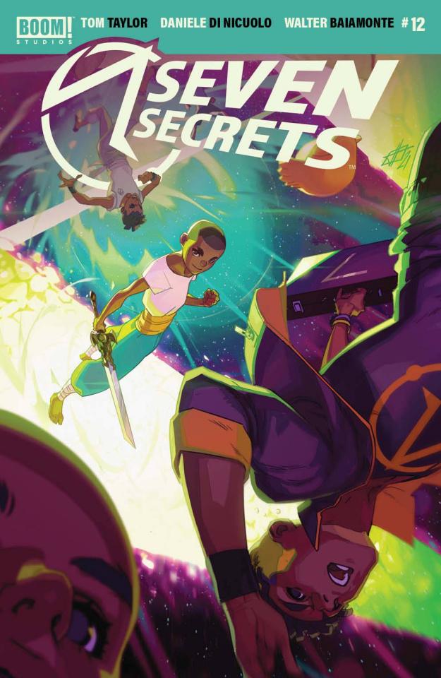 Seven Secrets #12 (Infante Cover)