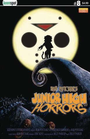 Junior High Horrors #8 (The Nightmare Before Christmas Parody)