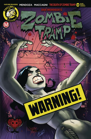 Zombie Tramp #54 (Winston Young Risque Cover)