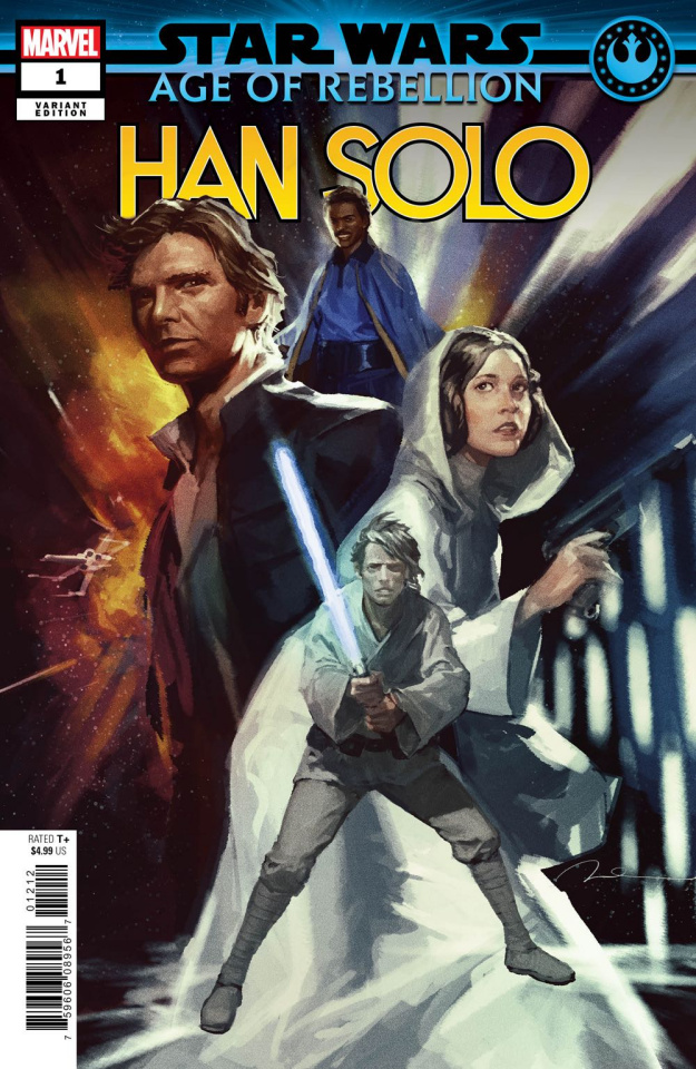 Star Wars: Age of Rebellion - Han Solo #1 (Parel Heroes Cover)