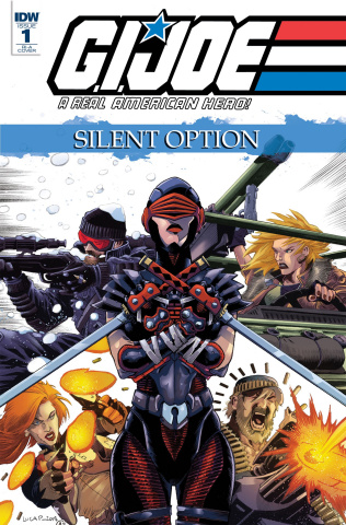 G.I. Joe: A Real American Hero - Silent Option #1 (10 Copy Cover)