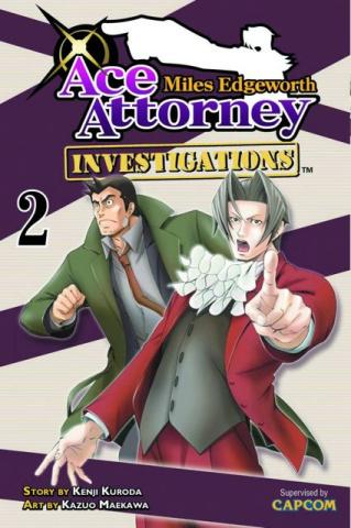 Miles Edgeworth: Ace Attorney Vol. 2