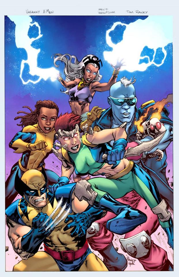 Fantastic Four #4 (Raney Uncanny X-Men Cover)