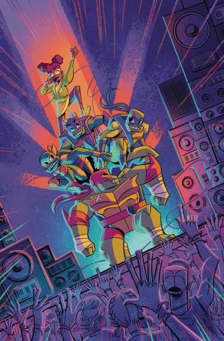 Rise of the Teenage Mutant Ninja Turtles: Sound Off #1 (10 Copy Caltsouda Cover)