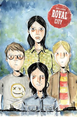 Royal City #6 (Lemire Cover)