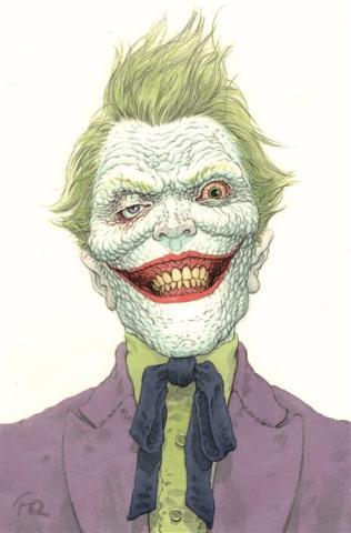 The Joker #1 (Frank Quitely Cover)