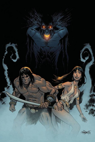 The Cimmerian: Iron Shadows in the Moon #3 (10 Copy Augustin Virgin Cover)