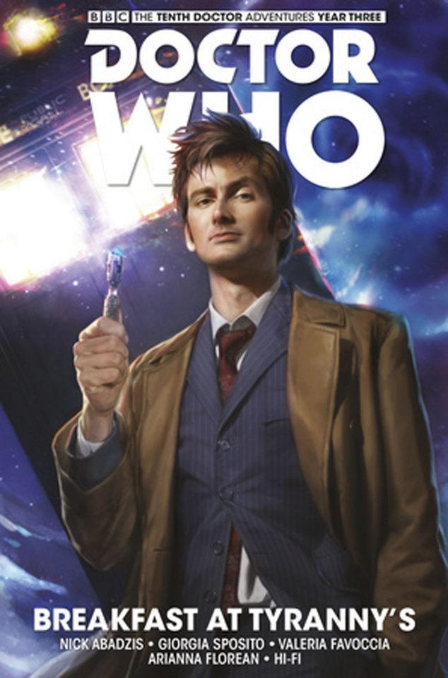 Doctor Who: New Adventures with the Tenth Doctor, Year Three Vol. 8: Breakfast At Tyranny's