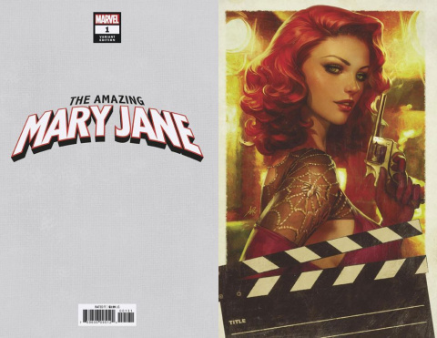 The Amazing Mary Jane #1 (Artgerm Virgin Cover)