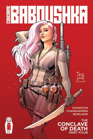 Codename Baboushka: The Conclave of Death #4 (Fowler Cover)