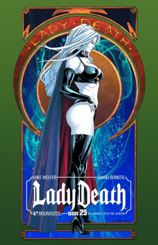 Lady Death #25 (Art Nouveau Cover)