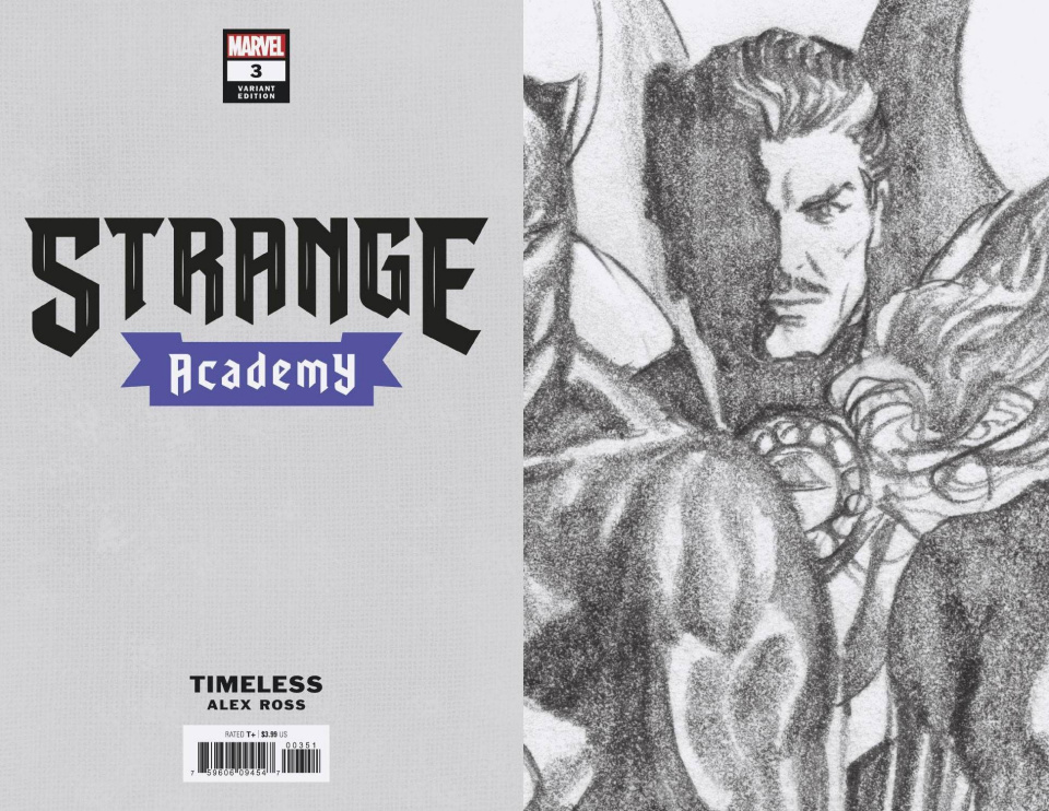 Strange Academy #3 (Ross Dr. Strange Timeless Virgin Sketch Cover)