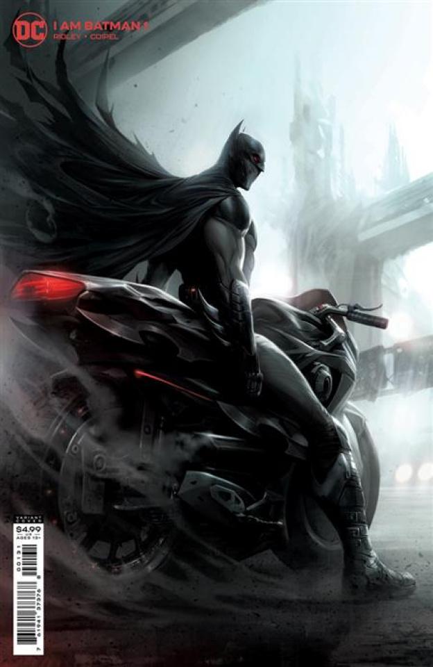 I am Batman #1 (Francesco Mattina Card Stock Cover)