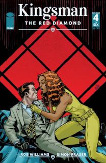 Kingsman: The Red Diamond #4 (Hamner Cover)