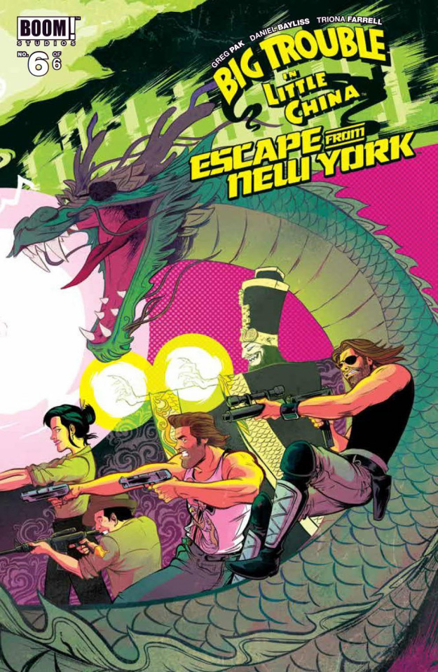 Big Trouble in Little China / Escape from New York #6 (Bayliss Cover)