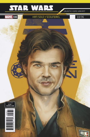 Star Wars #46 (Reis Galactic Icon Cover)