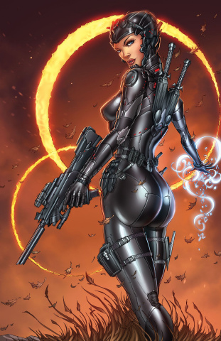 Grimm Fairy Tales: Red Agent - The Human Order #2 (Tyndall Cover)