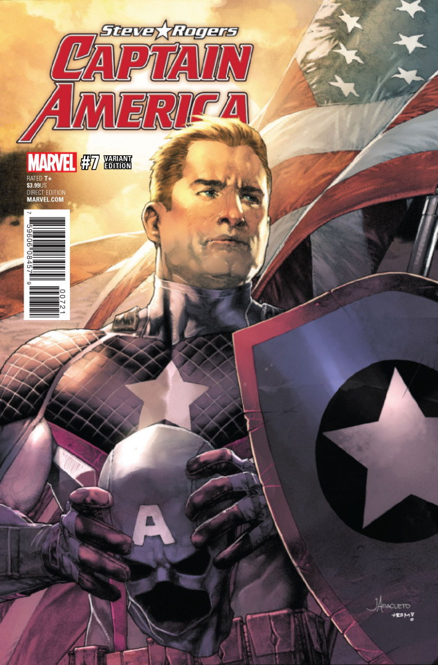Captain America: Steve Rogers #7 (Anacleto Cover)